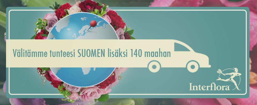 Kukkalähetys Oulu