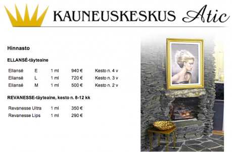 Kauneuskeskus Atic & Medical Beauty center
