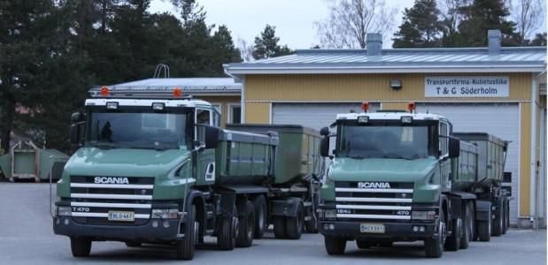 Kuljetusliike T&G Söderholm Oy