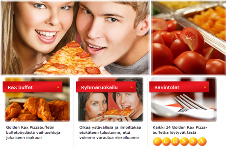 Golden Rax Pizzabuffet Lappeenranta