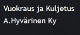 A. Hyvärinen Ky