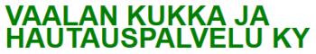 Vaalan Kukka- Ja Hautauspalvelu Ky